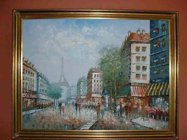 Moulin Rouge Oil Painting Burnett