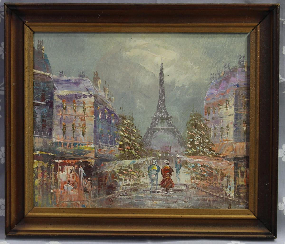 W Burnett Oil Painting